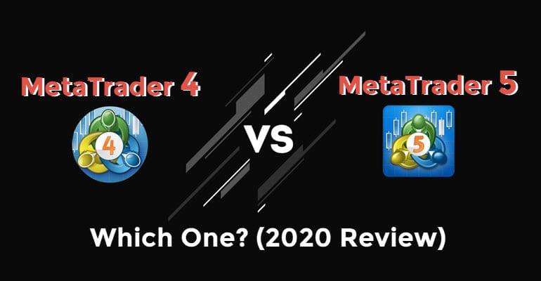 MetaTrader 4 vs 5 Cover