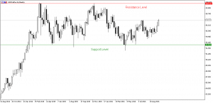 forex strategy: support/resistance level