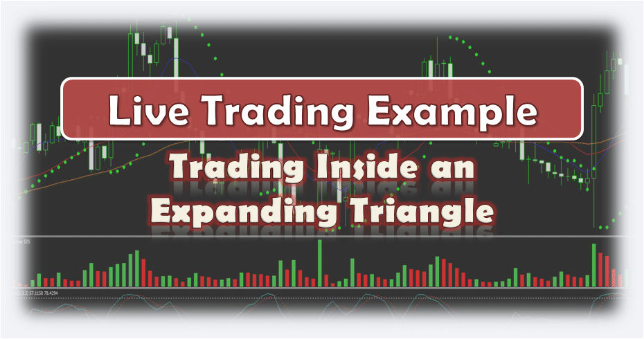 Trading Inside an Expaning Triangle - Live Forex Trading Example