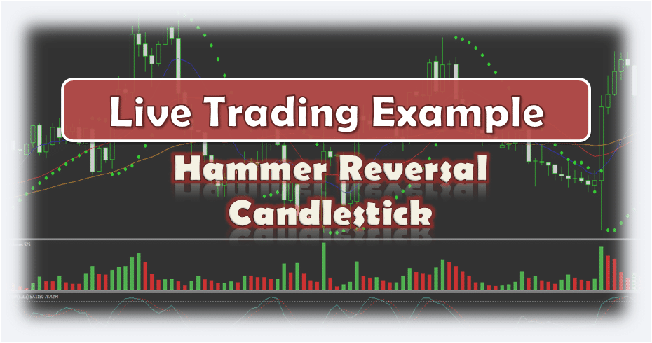 Hammer Candlestick - Live Forex Trading Example