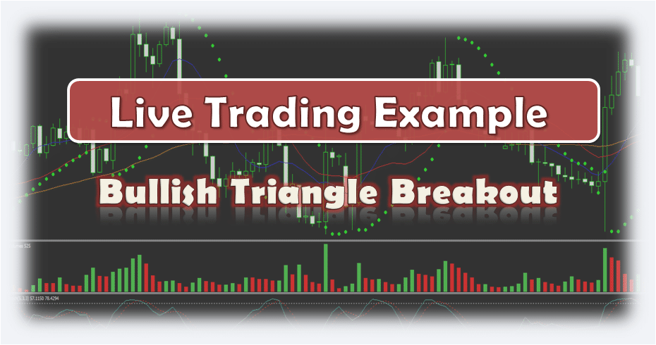Bullish Triangle Breakout - Live Forex Trading Example